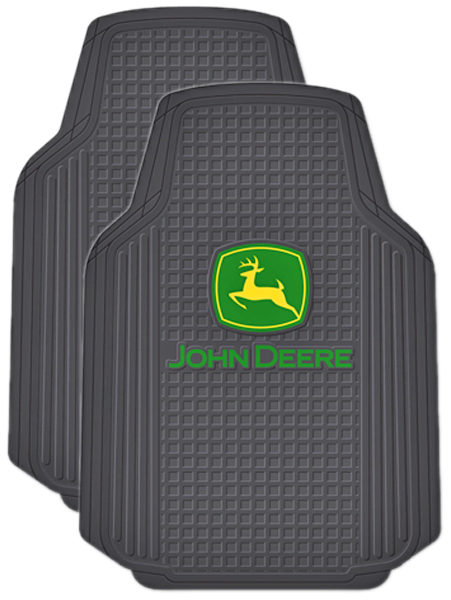 John Deere Seat Covers For Trucks : John deere truck floor mats pair pla
