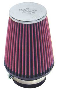 Image of K&N Universal Chrome Cold Air Intake Filter