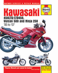 Kawasaki EN450 and 500 Twins Haynes Repair Manual (1986 - 2007)