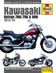 Kawasaki Vulcan 700, 750 and 800 Haynes Repair Manual (1985 - 2004)