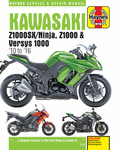 Kawasaki Z1000, Z1000SX & Versys Haynes Repair Manual (2010-2016)