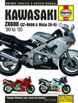 Kawasaki ZX600 Haynes Repair Manual (1990 - 2000)