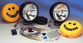 KC Hilites Daylighter Halogen Black Long Range Off-Road Light Kit