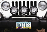 KC Hilites Lite Bars