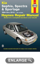 Kia Sephia and Spectra Haynes Repair Manual (1994-2010)