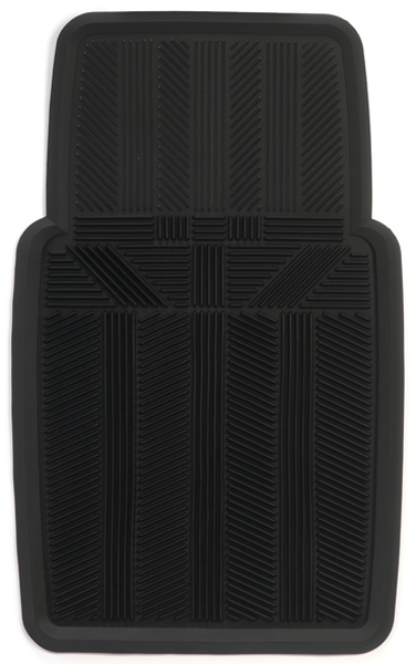 Kraco 1 piece heavy duty all weather rubber floor mat for 1 piece floor mats