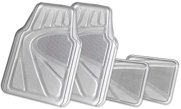 Click here for Kraco 4-Piece Clear Premium Vinyl Floor Mats prices