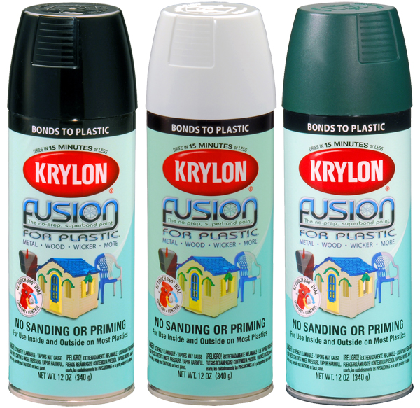 Krylon Fusion Spray Paint For Plastic 12 Oz Kry2xxx Series