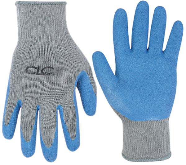 Image of Latex Dipped Knit Gloves Large