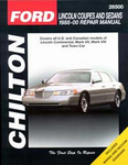 Lincoln Coupes & Sedans Chilton Repair Manual (1988-2000)