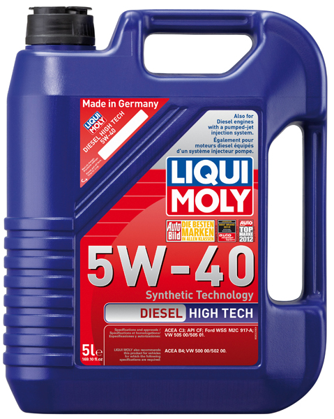 liqui moly diesel high tech 5w40 motor oil 5 liter xxx1332. Black Bedroom Furniture Sets. Home Design Ideas