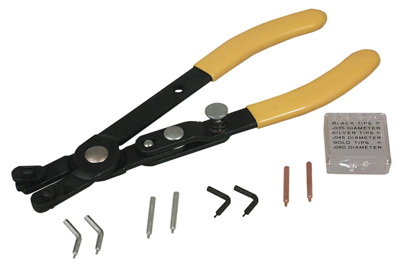 Image of Lisle Combination Internal/External Snap Ring Pliers