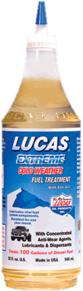 Image of Lucas Extreme Cold Weather Fuel Treatment 32 oz.
