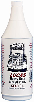 "Image of ""Lucas Heavy Duty 80/90 """"Plus"""" Gear Oil (1 Quart)"""