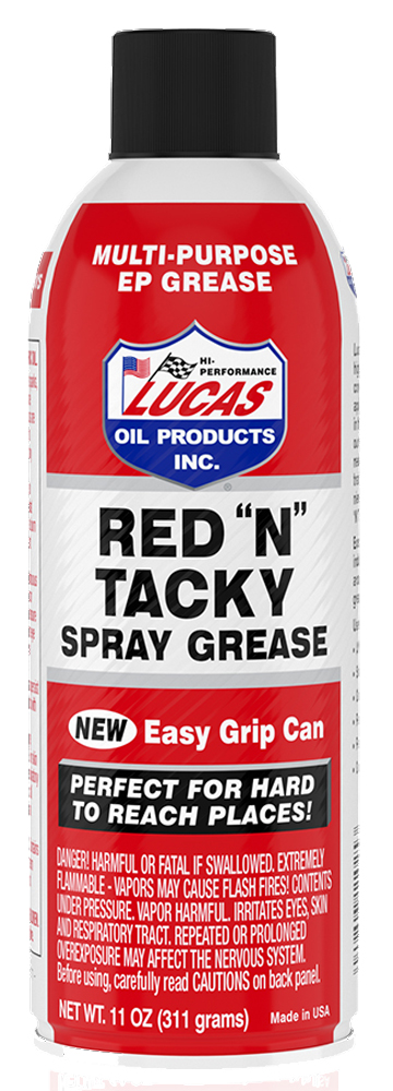 "Image of ""Lucas Red """"N"""" Tacky Grease - 11 oz"""