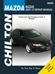 Mazda 6 Chilton Repair Manual (2003-2013)