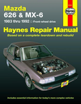 Mazda 626 & MX-6 Haynes Repair Manual (1983 - 1992)