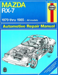 Mazda RX-7 Haynes Repair Manual (1979-1985)