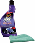 Meguiar's NXT Generation Tech Wax 2.0 Liquid Wax (18 oz) & Microfiber Cloth Kit