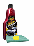 Meguiars Clear Coat Safe Polish Compound (16 oz.), Foam Pad & Microfiber Cloth Kit