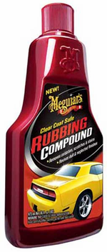 Meguiars Clear Coat Safe Rubbing Compound 16 Oz Megg