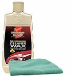 Meguiars Professional Cleaner Wax (16 oz.), Microfiber Cloth Kit