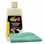 Meguiars Professional Machine Glaze Buffer Wax (16 oz.), Microfiber Cloth Kit