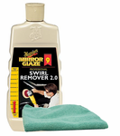 Meguiars Professional Swirl Remover (16 oz.), Microfiber Cloth Kit