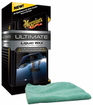 Meguiars Ultimate Liquid Wax & Microfiber Cloth Kit