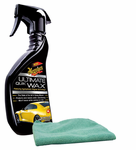 Meguiars Ultimate Quik Wax Spray & Microfiber Cloth Kit