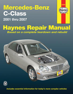 Image of Mercedes Benz C-Class Haynes Repair Manual (2001 - 2007)