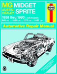 MG Midget & Austin-Healy Sprite Haynes Repair Manual (1958-1980)