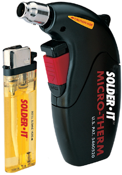 Image of MICRO-THERM Electronic Butane Heat Gun
