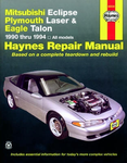 Mitsubishi Eclipse, Plymouth Laser & Eagle Talon Haynes Repair Manual (1990-1994)