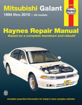 Mitsubishi Galant Haynes Repair Manual (1994-2010)