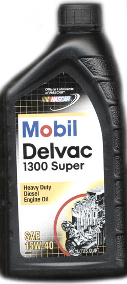 Image of Mobil Delvac 1300 Super Motor Oil 15W-40 For Diesels