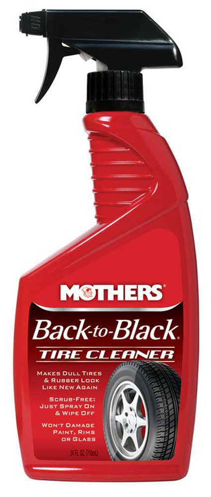 Image of Mothers Back to Black Tire Cleaner 24 OZ