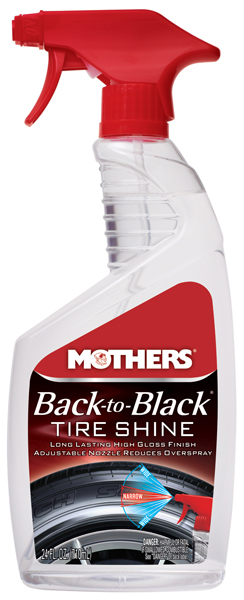 Image of Mothers Back-To-Black Tire Shine 24 oz.