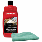 Mothers California Gold® Brazilian Carnauba Cleaner Wax & Microfiber Cloth Kit