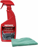 Mothers Carpet & Upholstery Cleaner & Microfiber Cloth Kit