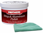 Mothers Mag & Aluminum Polish & Microfiber Cloth Kit