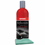 Mothers Reflections Advanced Top Coat (16 oz), Microfiber Cloth Kit