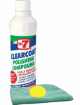 No. 7 Clearcoat Polishing Compound, Microfiber Cloth & Foam Pad