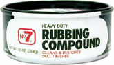 No. 7 Rubbing Compound (10 oz.)