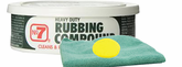No. 7 Rubbing Compound (10 oz.), Microfiber Cloth & Foam Pad Kit