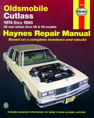 oldsmobile cutlass haynes repair manual 1974 1988 hay73015 rh autobarn net