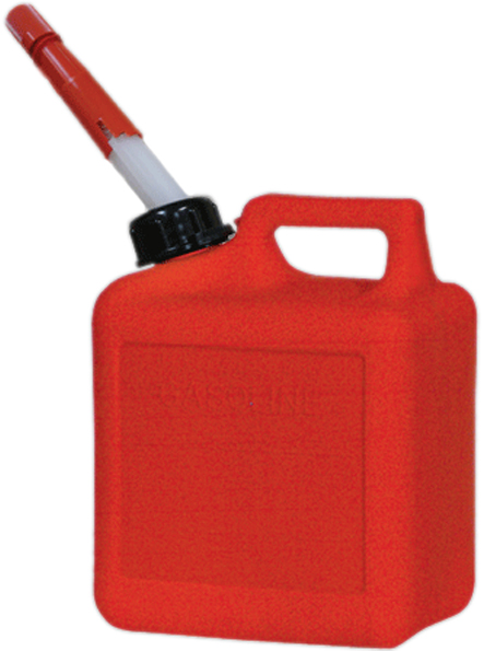 Image of One Gallon CARB Plastic Gas Can