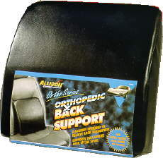 Image of Orthopedic Vinyl Back Support Wedge