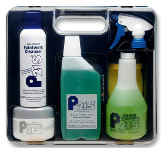 Image of P21S Deluxe Auto Care Kit