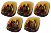 Pacer Ford Style Amber Five Cab Roof LED Running Lights Kit (1999-2008)